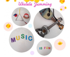54th National Day Promotion on Ukulele Jamming Classes
